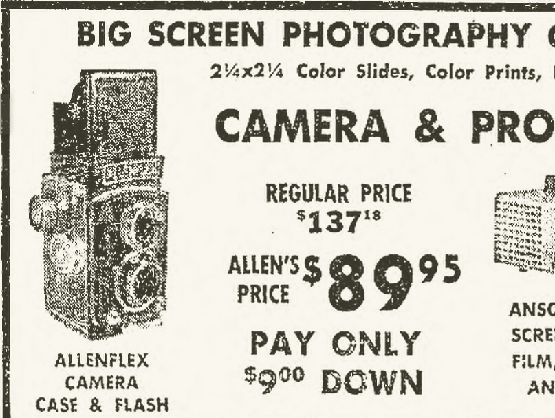 Advertisement Closeup